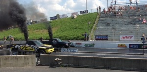 XDP Drag Team in finals at Rockingham
